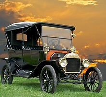 1914 Ford Model T Touring Car by DaveKoontz