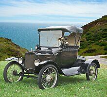 1917 Ford Model T Roadster by DaveKoontz