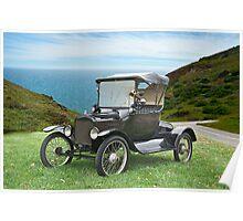 1917 Ford Model T Roadster Poster