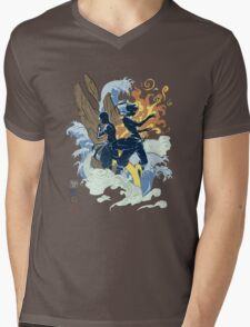 Avatar Bender Mens V-Neck T-Shirt