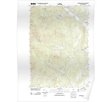 USGS Topo Map  Vermont VT Sterling Mountain 20120712 TM Poster