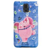 Elephant in a porcelain shop - Clumsy Rondy the Elephant Samsung Galaxy Case/Skin