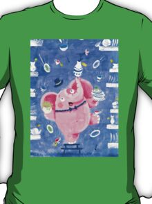 Elephant in a porcelain shop - Clumsy Rondy the Elephant T-Shirt