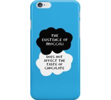 TFIOS - The Existence of Broccoli Does Not Affect The Taste of Chocolate iPhone Case/Skin