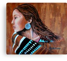 Mariah, Wrapped In Tradition #12 Canvas Print