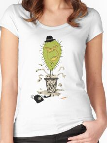 Press Monster Women's Fitted Scoop T-Shirt