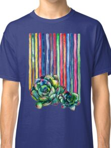 Rainbow Succulents Classic T-Shirt