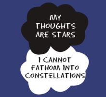 TFIOS - My Thoughts Are Stars I Cannot Fathom Into Constellations by Connie Yu
