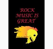 Rock Music is Great  Unisex T-Shirt