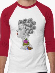 Tattooed Curlers Men's Baseball ¾ T-Shirt