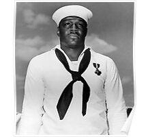Dorie Miller -- Navy Cross Recipient Poster