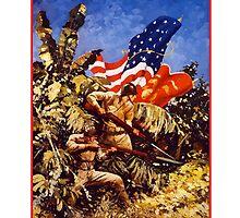 Let's Go Get 'Em! U.S. Marines by warishellstore