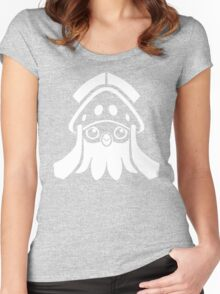 Inkay (White) Women's Fitted Scoop T-Shirt