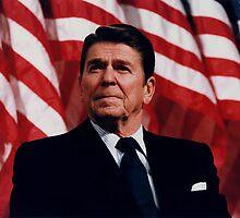 President Ronald Reagan by warishellstore