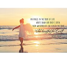 The Book of Life - Baby Photographic Print