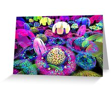 song of the jellyfish Greeting Card