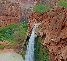 Havasu Falls Study 1 in PM  by Robert Meyers-Lussier