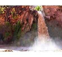 Havasu Falls Study 2 During Flash Flood Photographic Print