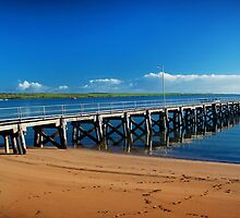 Streaky Bay Jetty by rebeccasmart