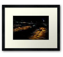 I'm Leaving,  On a Jet Plane Framed Print