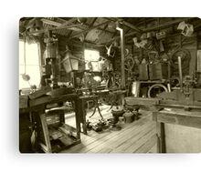 The workshop Canvas Print