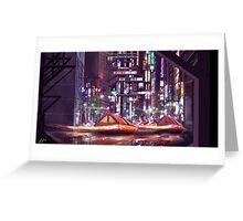 Future Tokyo Greeting Card
