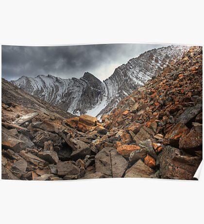 Barren rocks III (HDR) Poster