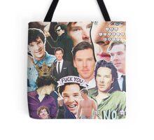 benedict collage Tote Bag