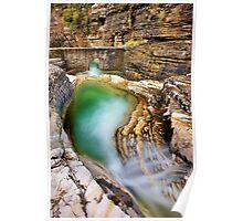 Natural pool in Zagori Poster