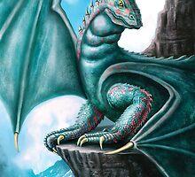Blue Dragon by Anthony  Christou