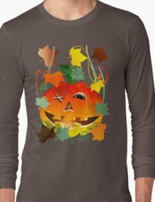 Bright Pumpkin Long Sleeve T-Shirt
