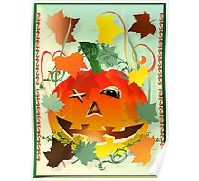 Bright Pumpkin Poster