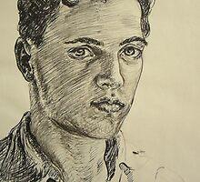 Portrait of a man by atelierwilfried