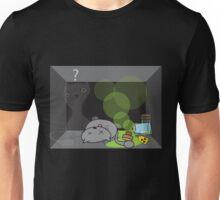 Schrödinger's cat is.... not alive Unisex T-Shirt