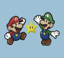Mario Brothers - Chasing Stars by StraightEK