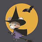 HALLOWEEN PARTY INVITE by Jane Newland