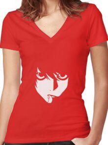 KIRA - Deathnote Women's Fitted V-Neck T-Shirt