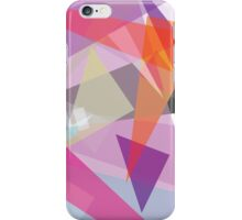 pink and orange - abstract case design iPhone Case/Skin