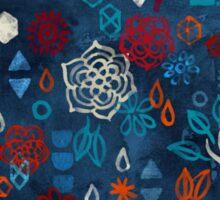 Earth, Water, Fire, Air - a watercolor pattern Sticker