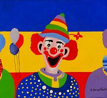 Send in the Clowns by Sandra  Sengstock-Miller