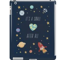It's a small world after all! iPad Case/Skin