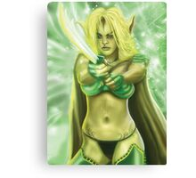 Elven Enchantress Canvas Print