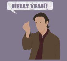 Hells yeah! Gabriel tee by Copperoxide