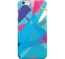 blue jazz - abstract case design iPhone Case/Skin