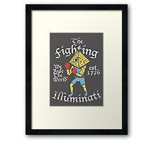 The Fighting Illuminati Framed Print