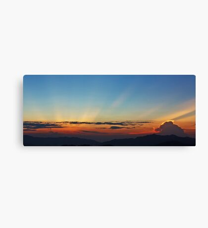 Amazing Light Canvas Print