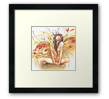"""""""JUNE"""" from the series """"Calender Sheets"""" Framed Print"""