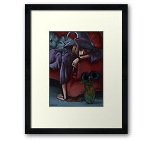 Sad Witch Framed Print