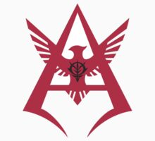 Char Aznable - Personal Insignia RED by UndeadWraith