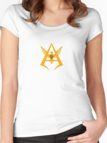 Char Aznable - Personal Insignia YELLOW Women's Fitted Scoop T-Shirt